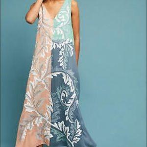 Anthropologie Maxi Dress Geisha Designs